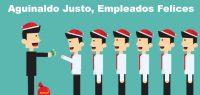 Aguinaldo Justo, Empleados Felices – Cálculo del Aguinaldo