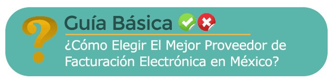 Mejor Proveedor de Facturación Electrónica