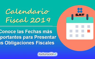 Calendario Fiscal: Conoce las Fechas más Importantes para Presentar tus Obligaciones Fiscales