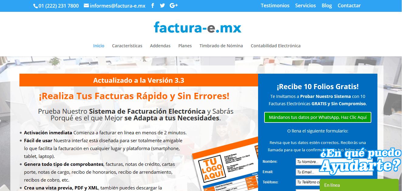 Sistema de Facturación Electrónica - Factura-e